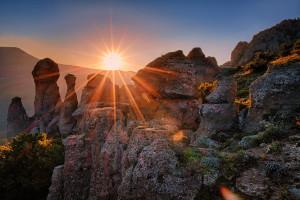 Долина приведений Крым