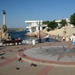 Солнечные часы, приморский бульвар, Севастополь